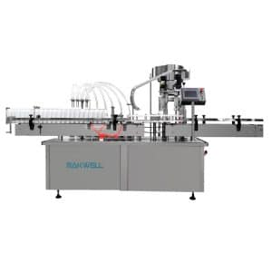 automatic filling capping line