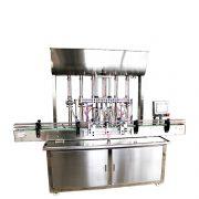 automatic 6 heads liquid filling machine hand sanitizer production line