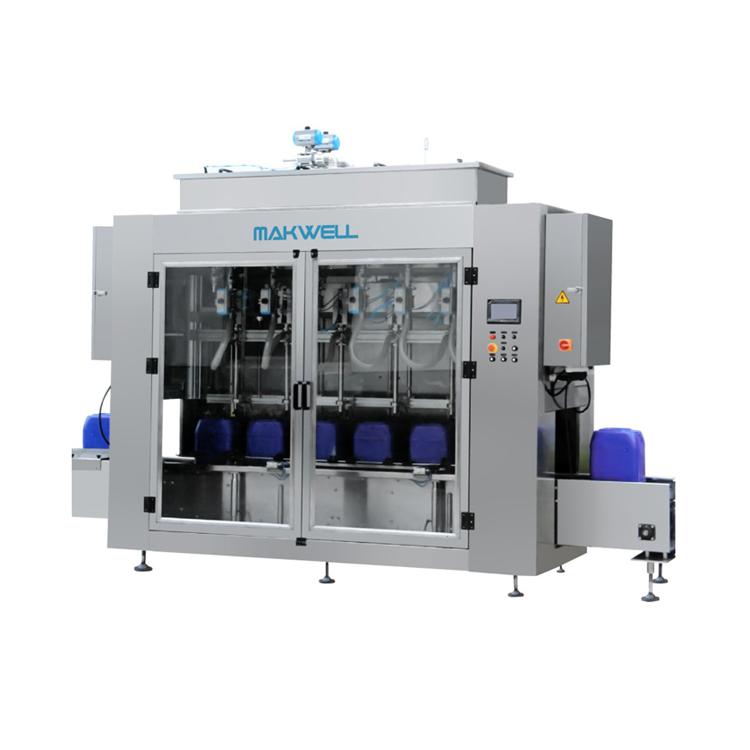 Automatic Hand Sanitizer Gel Filling Machine Filling Machine