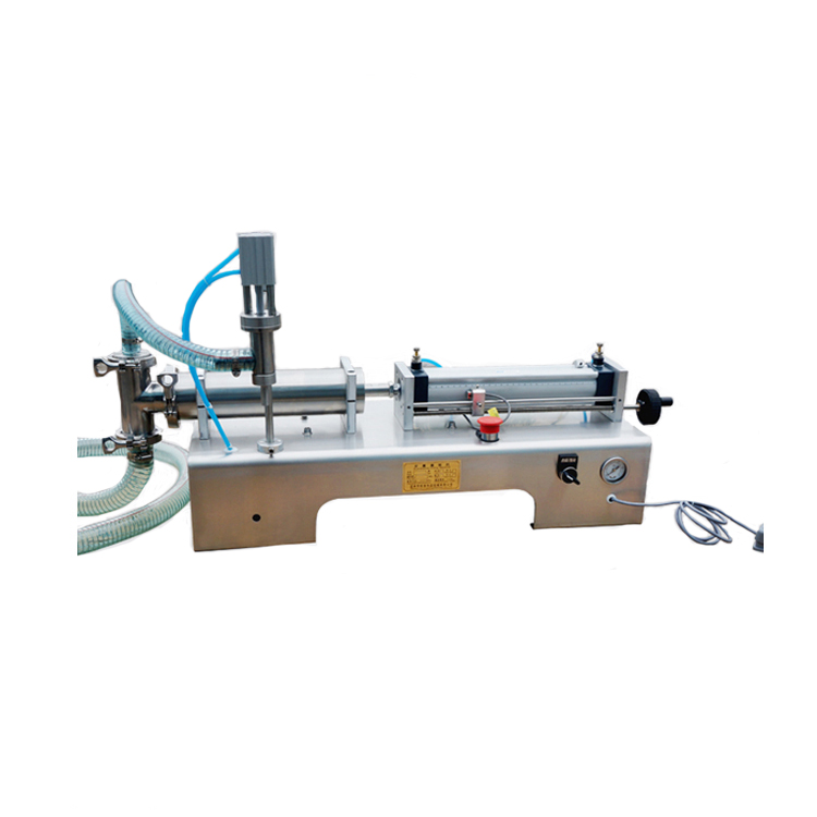 semi automatic hand sanitizer filling machine