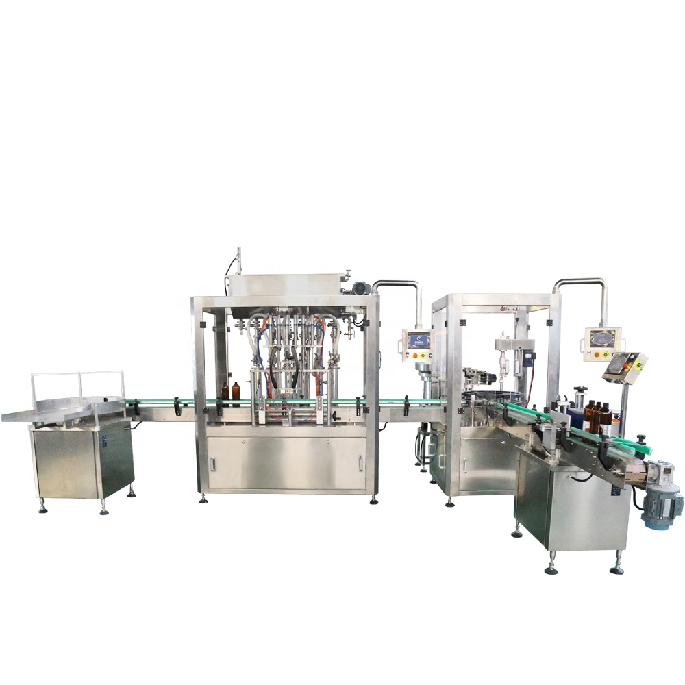 hand sanitizer automatic filling cuping machines